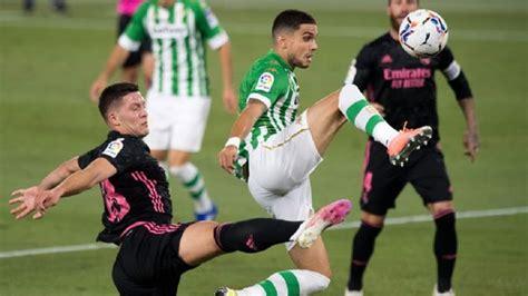 Real Madrid vs. Real Betis: resultado, resumen y goles del ...
