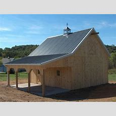 Pole Buildings With Living Quarters  Equine Pole Barns