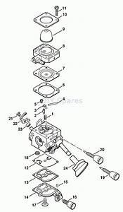 Stihl Br 340 Parts Diagram
