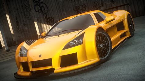 Gumpert Apollo S Black Front