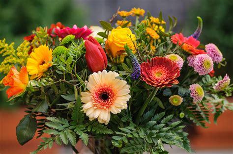 Bunter Blumenstrauß  Foto & Bild  Flower, Frühling
