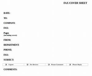 Sample Confidential Fax Cover Sheet 12 Documents In PDF