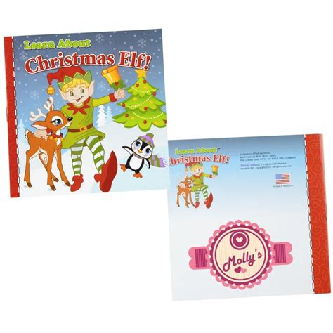 4imprintcom Learn About Book  Christmas Elf 143262elf Imprinted With Your Logo