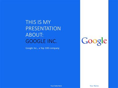 google  powerpoint template blue presentationgocom