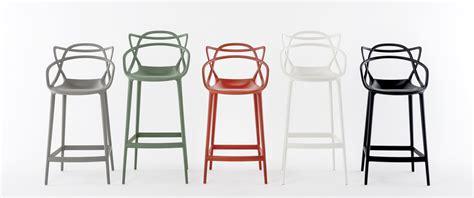 chaise de bar masters h 65 cm polypropylène vert sauge