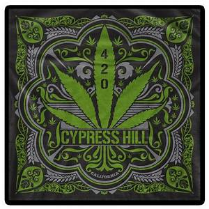 Cypress Hill 420 Bandana