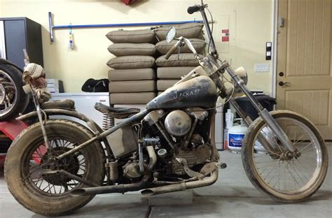 1946 Fl Is A Hell's Angels Barn Find!