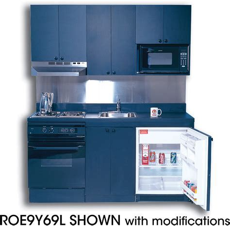 Acme ROE9Y78 Compact Kitchen with Stainless Steel