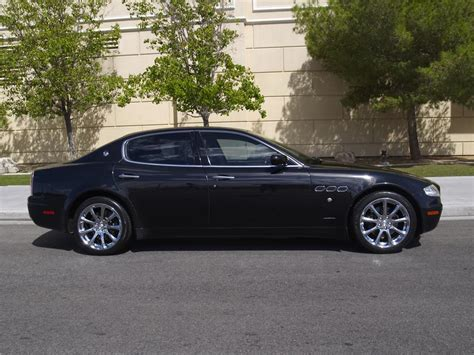 black maserati sedan 2007 maserati quattroporte 4 door sedan 177521