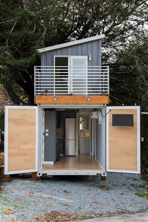 story shipping container tiny house  sale