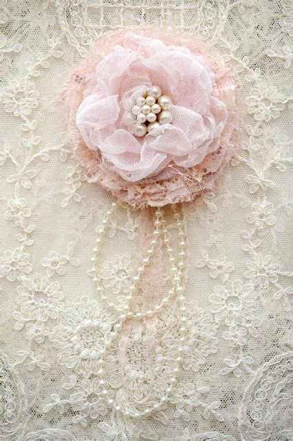shabby fabrics blooms 25 best ideas about lace flowers on pinterest fabric flowers lace ribbon and easy fabric flowers