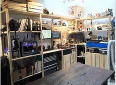Massive IKEA IVAR Workstation IKEA Hackers