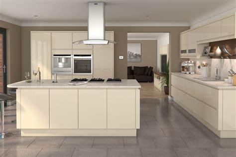 Kitchen Floor Units by White Gloss Kitchen Grey Worktop Grey Floor