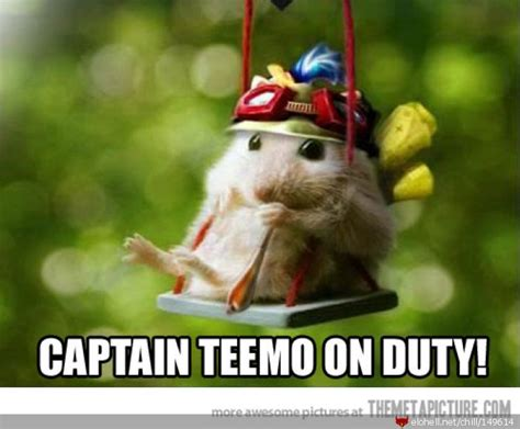 chillout captain teemo  duty