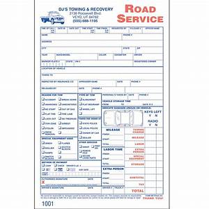 custom road service invoices 1000 forms aw direct With roadside assistance invoice template