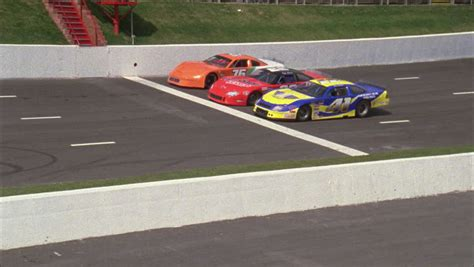 Day 3 Stock Race Cars Stopped White Start Line Nd Race