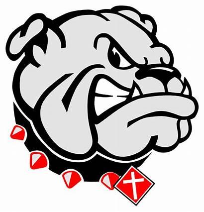 Bulldog Bulldogs Georgia Vector Football Christian Clip