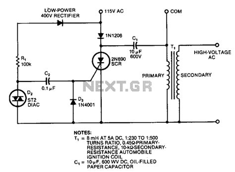 High Voltage Circuit Power Supply Circuits Next