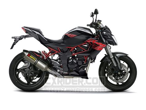 Modification Kawasaki Z250sl by Konsep Modifikasi Z250sl 2014 Cxrider