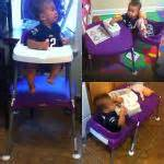evenflo mini meal 3 in 1 highchair evenflo mini meal 3 in 1 high chair dottie grape