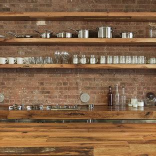 wood brick wall houzz