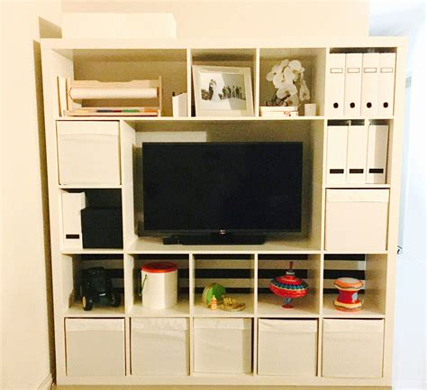 Kallax Ikea Hack by Ikea Hack 5 X 5 Expedit Kallax Shelves Minus A Few