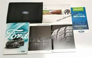 2018 Ford Fusion Hybrid Owners Manual Platinum Titanium Se