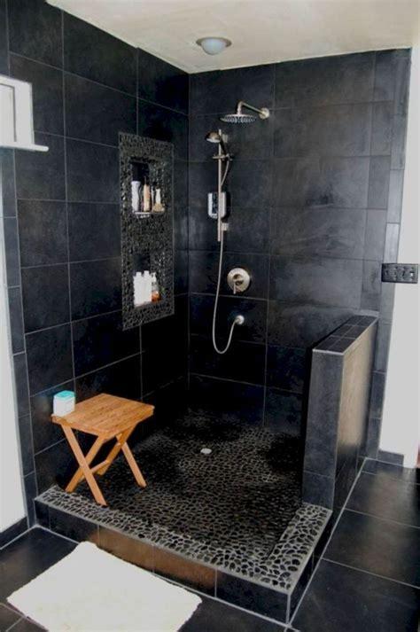 awesome schwarz dusche fliesen ideen fuer badezimmer
