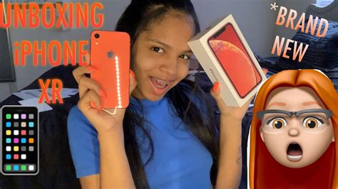 Unboxing My Brand New Iphone Xr !!! Youtube