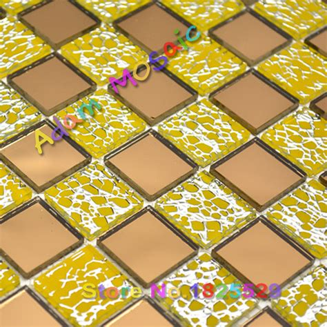 clear glass bricks beveled mirror tiles decorative border
