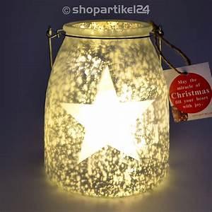 Glas Mit Lichterkette : windlicht glas deko led glas mit mini lichterkette milchglas stern auswahl ebay ~ Yasmunasinghe.com Haus und Dekorationen
