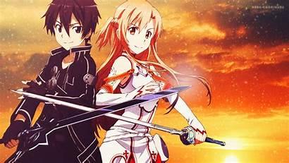 Sword Asuna Kirito Anime Wallpapers Ps4wallpapers Sao