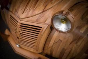 2 Cv En Bois : diy french furnituremaker made a real car from wood my desired home ~ Medecine-chirurgie-esthetiques.com Avis de Voitures