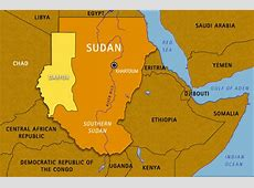 Map Sudan, Chad And Surrounding Areas On Our Watch