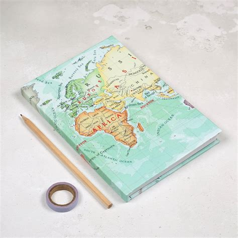 you are my world personalised map notebook for by bombus notonthehighstreet