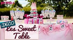 Deco Bonbon Anniversaire : les sweet table id e d co pour un buffet d 39 anniversaire youtube ~ Melissatoandfro.com Idées de Décoration
