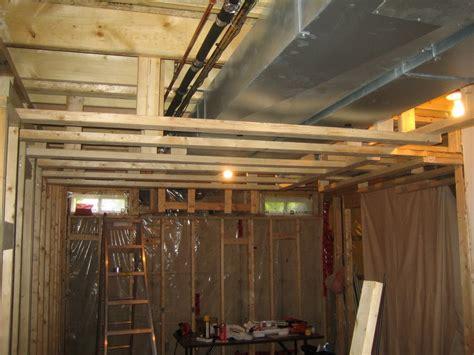 Fabric For Curtains Toronto by Coast Of Araska Basement Ceiling Framing