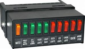 Sb4425t Switch Box For Police  Fire  Emergancy Vehicle