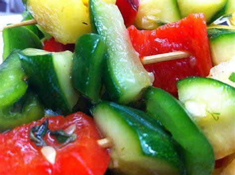 recette cuisine gastro brochette légumes ananas recette végétarienne