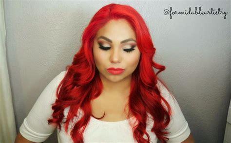 formidableartistry wwe divas eva marie hair makeup tutorial