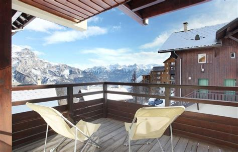 rental 2 room apartment 4 to puy vincent 1600 ski planet
