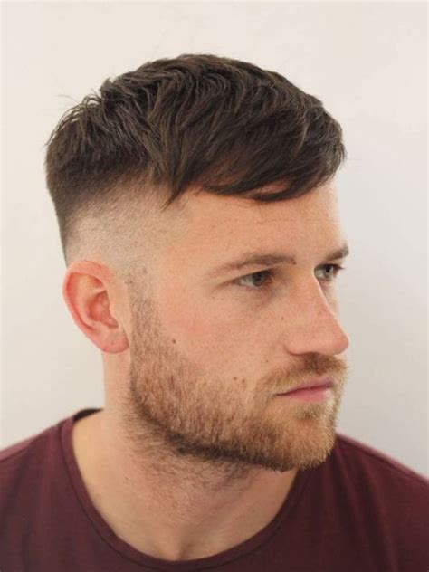 selected hairstyles  men  big foreheads