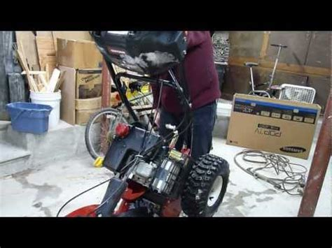 Snow Blower Carburetor Clean Funnydogtv