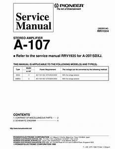 Pioneer A107