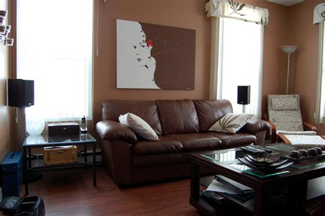 Living Room Brown Sofa by 33 Living Room With Brown Sofa Living Room Living