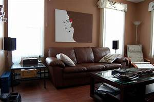 dark brown couch living room ideas With black and brown furniture in living room