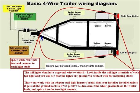 How Wire Trailer Lights Way Diagram Fuse Box