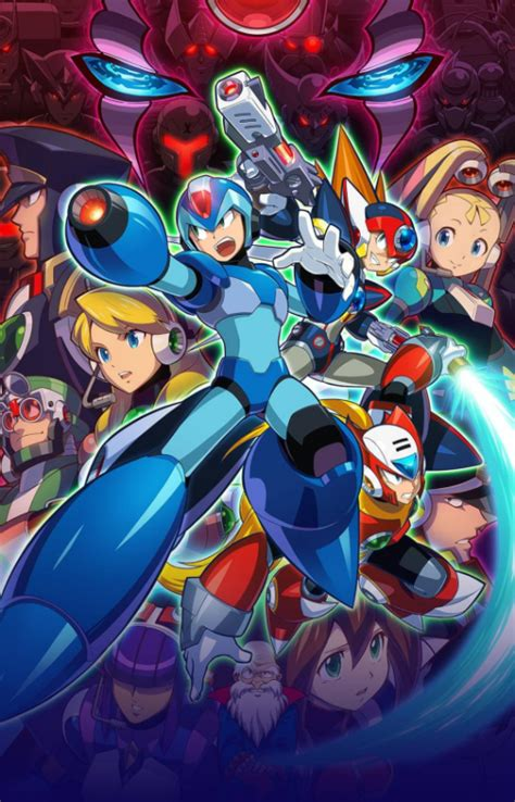 Mega Man X Legacy Collection Art The Nostalgia Factor