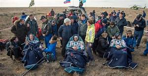 Astronauts From The International Space Station Return Home
