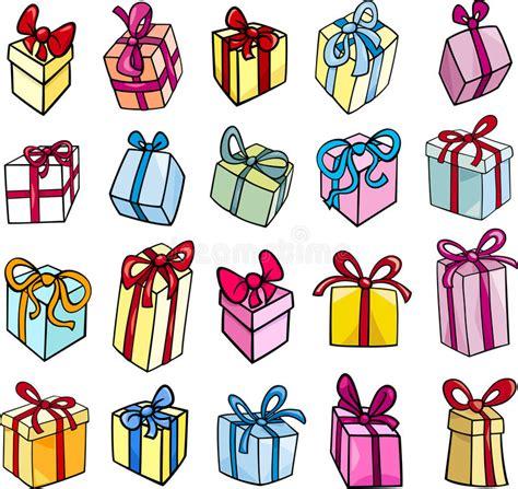 clipart compleanno gratis insieme di clipart regalo di compleanno o di natale